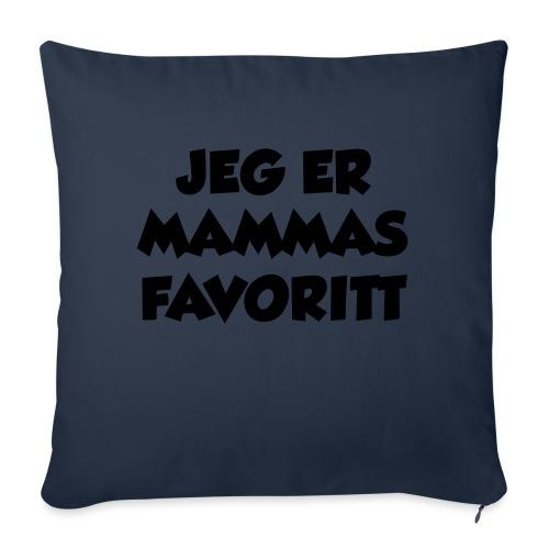 «Jeg er mammas favoritt» (fra Det norske plagg) - Sofaputetrekk 45 x 45 cm