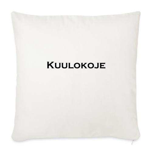 Kuulokoje - Sohvatyynyn päällinen 45 x 45 cm