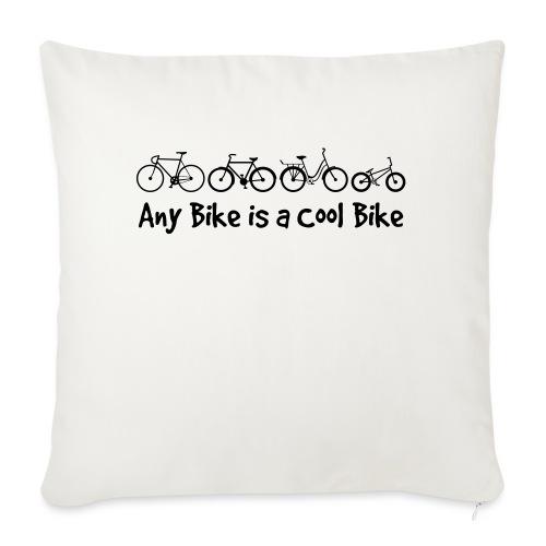Any Bike is a Cool Bike Kids - Sofa pillowcase 17,3'' x 17,3'' (45 x 45 cm)