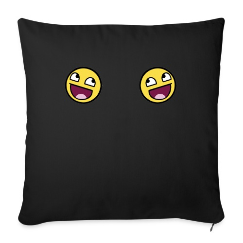 Design lolface knickers 300 fixed gif - Sofa pillowcase 17,3'' x 17,3'' (45 x 45 cm)