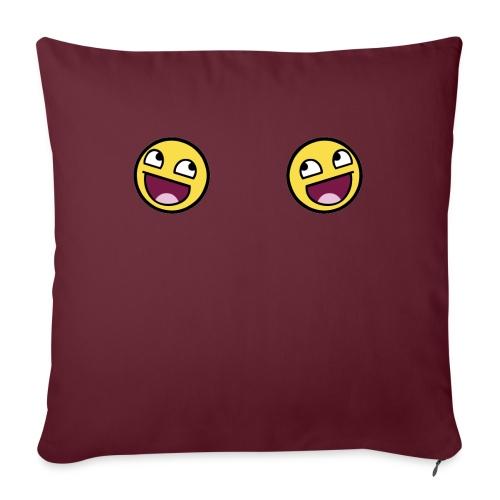 Design lolface knickers 300 fixed gif - Sofa pillowcase 17,3'' x 17,3'' (45 x 45 cm)