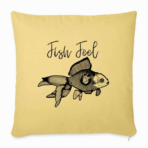 Fish Feel - Sofa pillowcase 17,3'' x 17,3'' (45 x 45 cm)