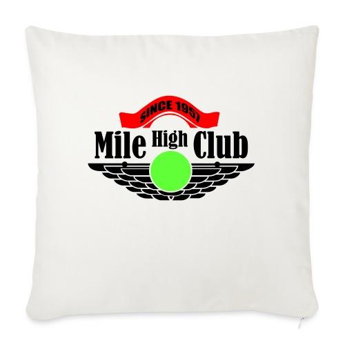 mile high club - Sierkussenhoes, 45 x 45 cm
