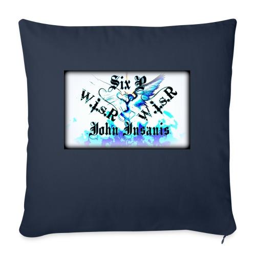 Six P&John Insains Deamon WisR - Sohvatyynyn päällinen 45 x 45 cm