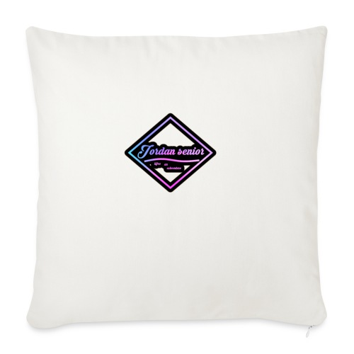 jordan sennior logo - Sofa pillowcase 17,3'' x 17,3'' (45 x 45 cm)