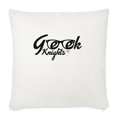 T-shirt-Geek-Knights - Sofa pillowcase 17,3'' x 17,3'' (45 x 45 cm)