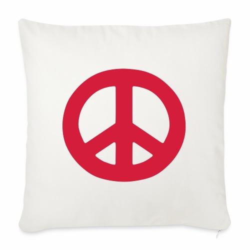 Peace - Sofa pillowcase 17,3'' x 17,3'' (45 x 45 cm)
