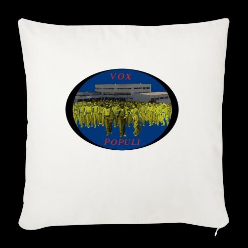 Vox Populi - Copricuscino per divano, 45 x 45 cm