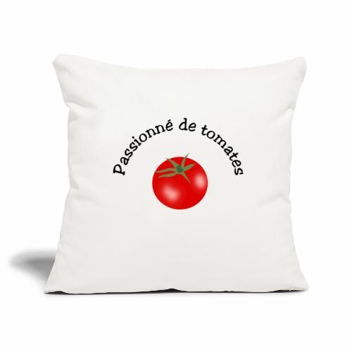 Tomate rouge - Sofa pillowcase 17,3'' x 17,3'' (45 x 45 cm)