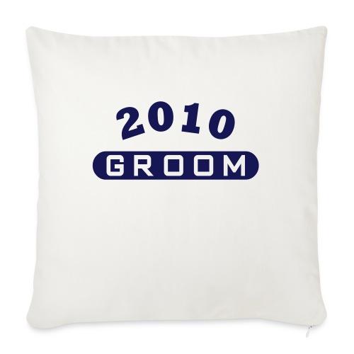 Groom 2010 - Sofa pillowcase 17,3'' x 17,3'' (45 x 45 cm)