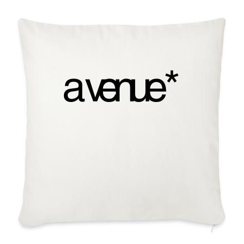 Logo AVenue1 80 - Sierkussenhoes, 45 x 45 cm