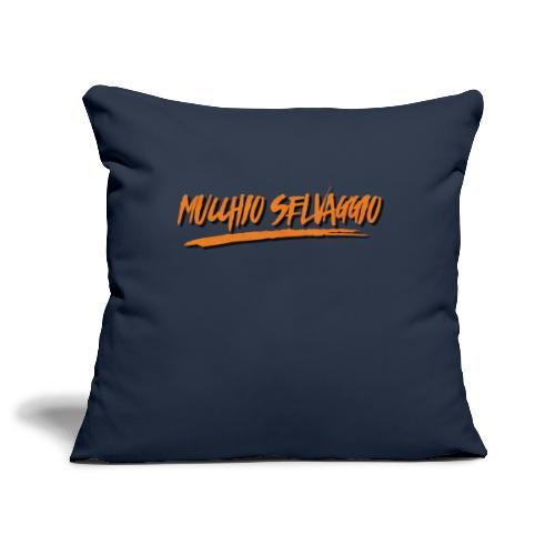 Mucchio Selvaggio 2016 Dirty Orange - Copricuscino per divano, 45 x 45 cm