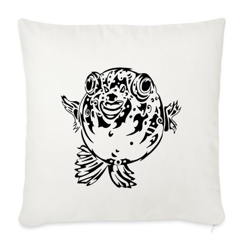 Puff the Blowfish - Sofa pillowcase 17,3'' x 17,3'' (45 x 45 cm)