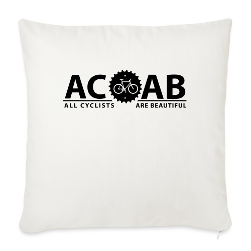 ACAB All Cyclists Are Beautiful T-Shirts - Sofakissenbezug 44 x 44 cm