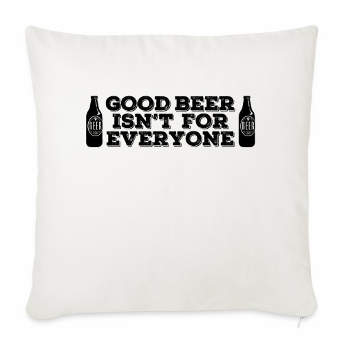 Good Beer - Sofa pillowcase 17,3'' x 17,3'' (45 x 45 cm)