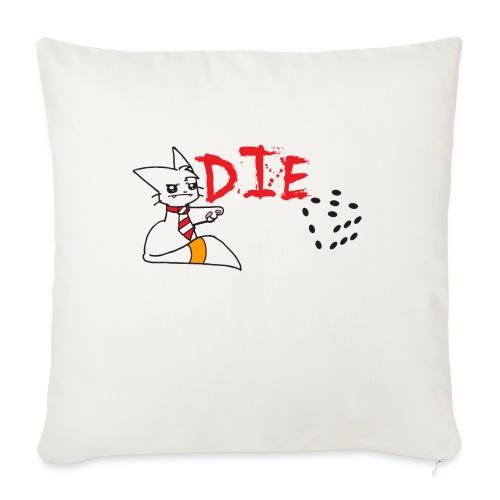 DIE - Sofa pillowcase 17,3'' x 17,3'' (45 x 45 cm)
