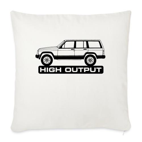 Jeep XJ High Output - Autonaut.com - Sofa pillowcase 17,3'' x 17,3'' (45 x 45 cm)