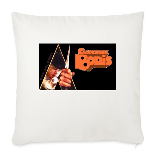 Clockwork Boris - Sofa pillowcase 17,3'' x 17,3'' (45 x 45 cm)
