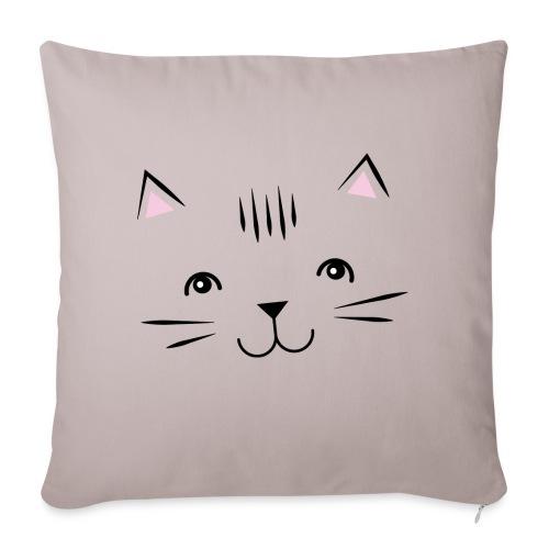 Kitty Cute Cat - Zensitivity - Sierkussenhoes, 45 x 45 cm