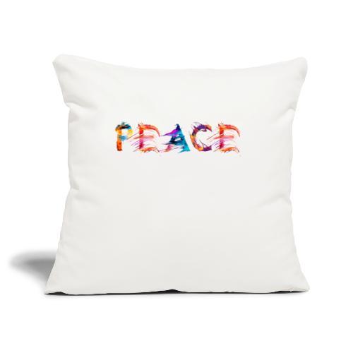 Peace - Housse de coussin décorative 45x 45cm