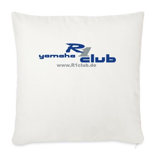 R1club Logo blau - Sofakissenbezug 44 x 44 cm