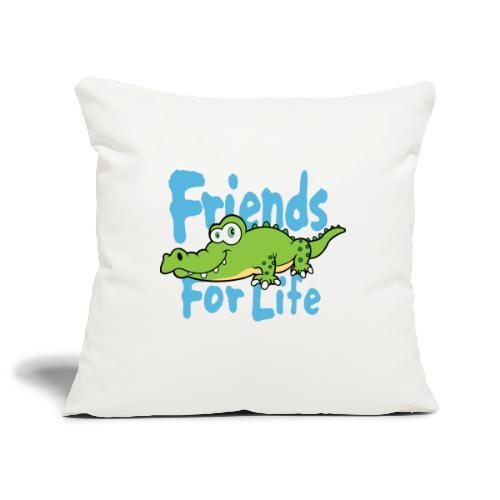 Friends for life - Sierkussenhoes, 45 x 45 cm