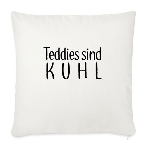 Teddies sind KUHL - Sofa pillowcase 17,3'' x 17,3'' (45 x 45 cm)