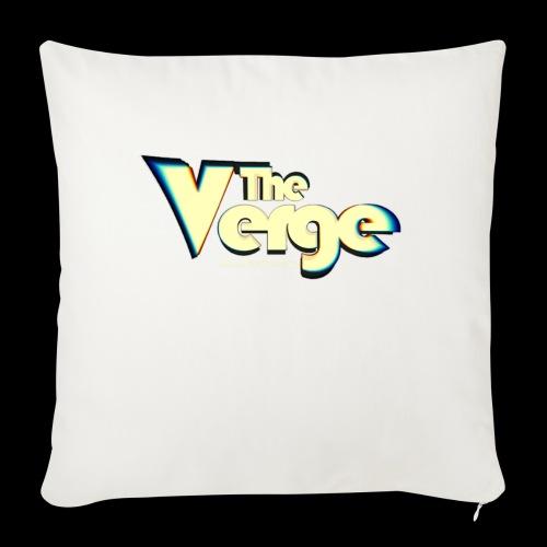 The Verge Vin - Housse de coussin décorative 45x 45cm