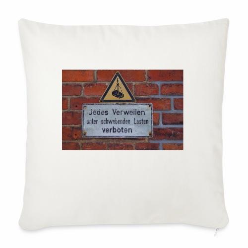 Original Artist design * Jedes Verweilen - Sofa pillowcase 17,3'' x 17,3'' (45 x 45 cm)
