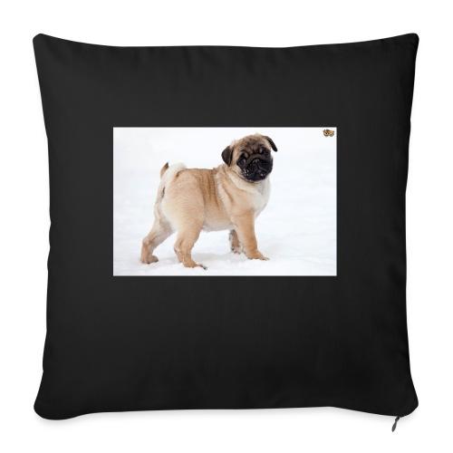 walker family pug merch - Sofa pillowcase 17,3'' x 17,3'' (45 x 45 cm)