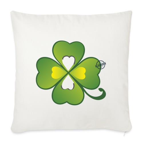Clover - Symbols of Happiness - Sofa pillowcase 17,3'' x 17,3'' (45 x 45 cm)
