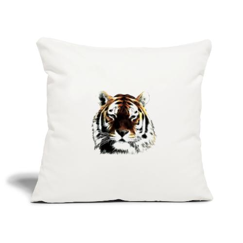 El poderoso tigre. - Funda de cojín, 45 x 45 cm