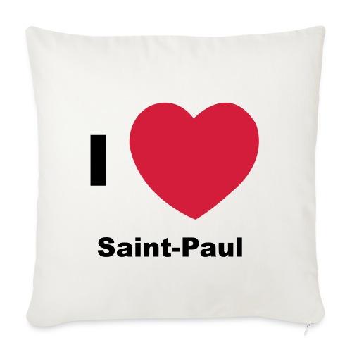 i love sainte paul - Housse de coussin décorative 45x 45cm