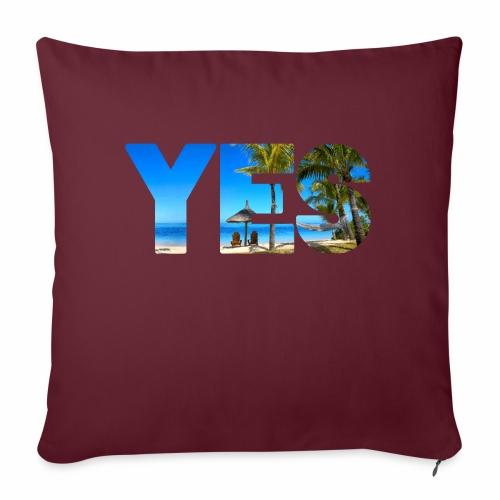 Karibik Urlaub - Sofakissenbezug 44 x 44 cm