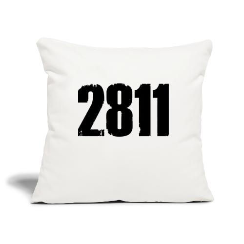 2811 - Sierkussenhoes, 45 x 45 cm