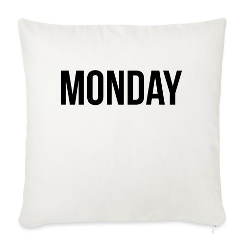 Monday - Sofa pillowcase 17,3'' x 17,3'' (45 x 45 cm)
