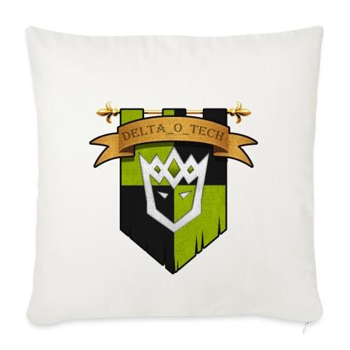 Delta_o_Tech-Banner - Sofa pillowcase 17,3'' x 17,3'' (45 x 45 cm)
