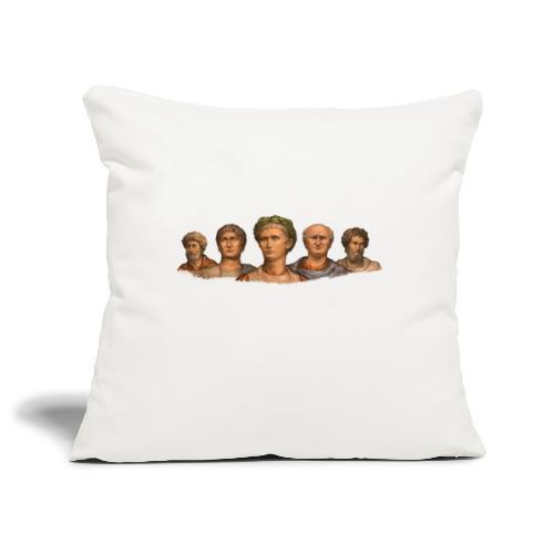 Popiersia cesarskie | Imperial busts - Poszewka na poduszkę 45 x 45 cm