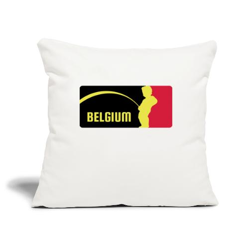Mannekke Pis, Belgium Rode duivels - Belgium - Bel - Housse de coussin décorative 45x 45cm