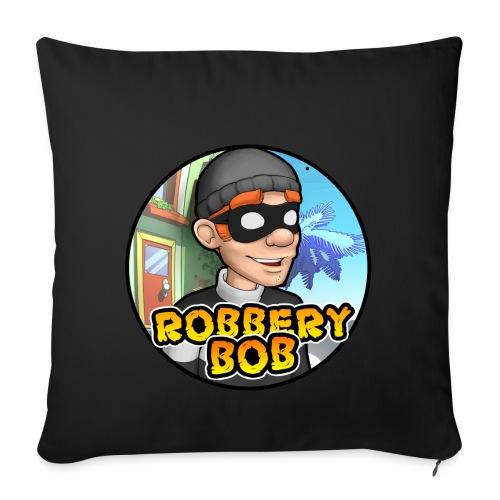 Robbery Bob Button - Sofa pillowcase 17,3'' x 17,3'' (45 x 45 cm)