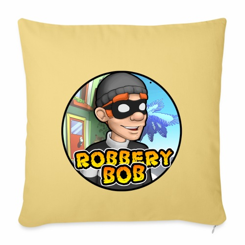 Robbery Bob Button - Sofa pillowcase 17,3'' x 17,3'' (45 x 45 cm)