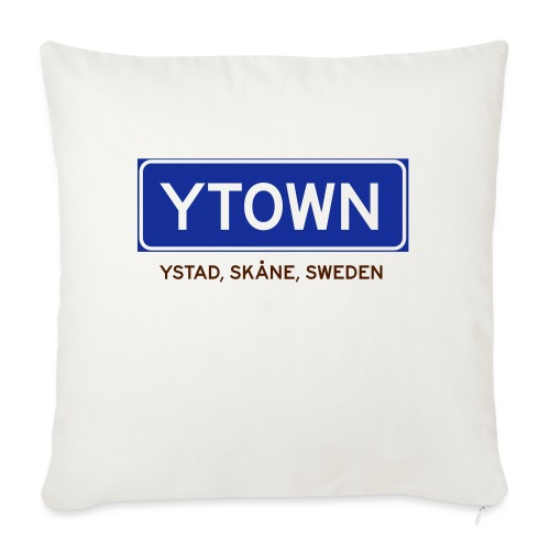 Ystad, Badly Translated - Soffkuddsöverdrag, 45 x 45 cm