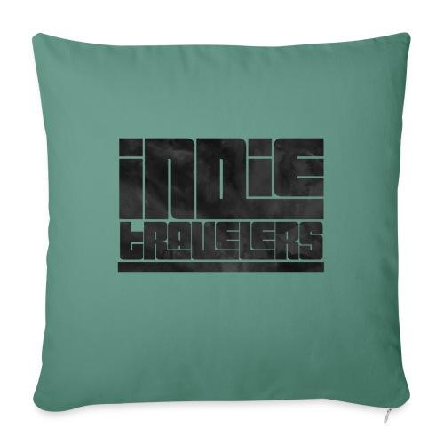 Indie Travelers - Funda de cojín, 45 x 45 cm