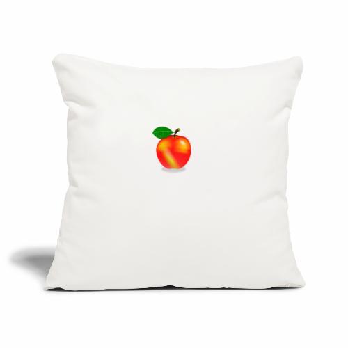 Apfel - Sofakissenbezug 44 x 44 cm