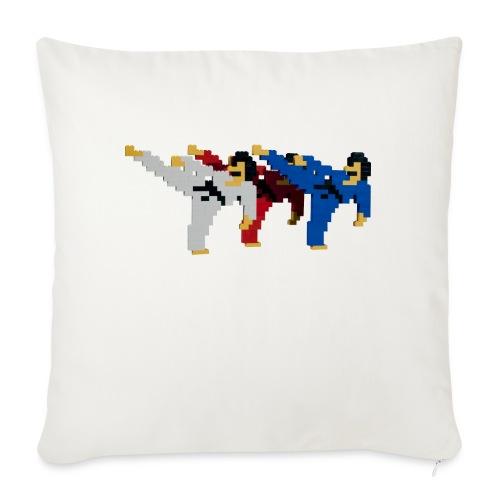 8 bit trip ninjas 2 - Sofa pillowcase 17,3'' x 17,3'' (45 x 45 cm)