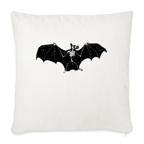 Bat skeleton #1 - Sofa pillowcase 17,3'' x 17,3'' (45 x 45 cm)