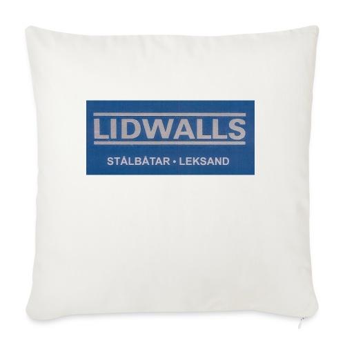 Lidwalls Stålbåtar - Soffkuddsöverdrag, 45 x 45 cm