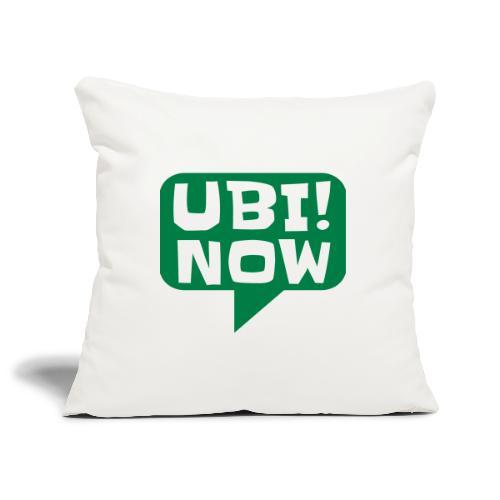 UBI! NOW - The movement - Sofa pillowcase 17,3'' x 17,3'' (45 x 45 cm)