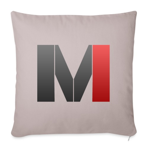 MrGank LOGO - Sofa pillowcase 17,3'' x 17,3'' (45 x 45 cm)