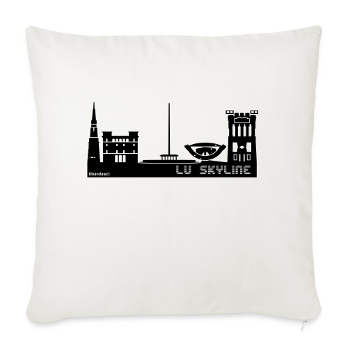 Lu skyline de Terni - Copricuscino per divano, 45 x 45 cm